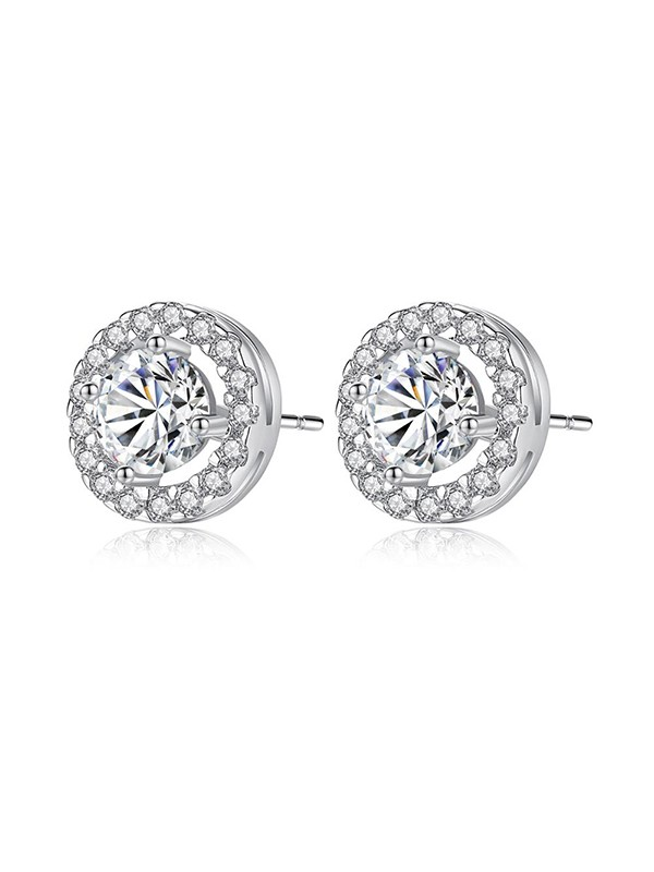 Elegant Zircon With Cubic Zirconia Women Earrings