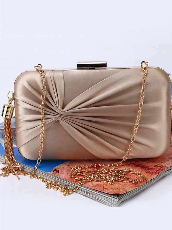 Trending Ruched Evening/Party Handbags