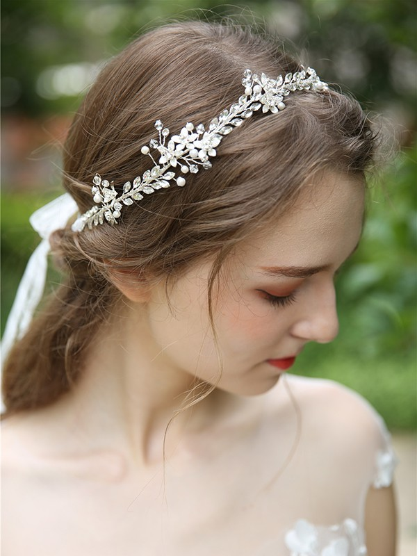 Simple Crystal Headpieces