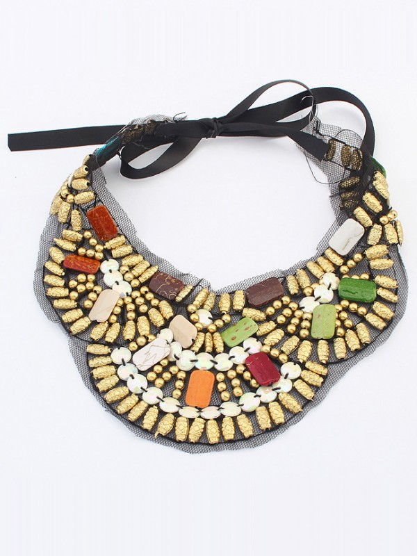 Occident Bohemia Ethnic customs Hot Sale Necklace - D