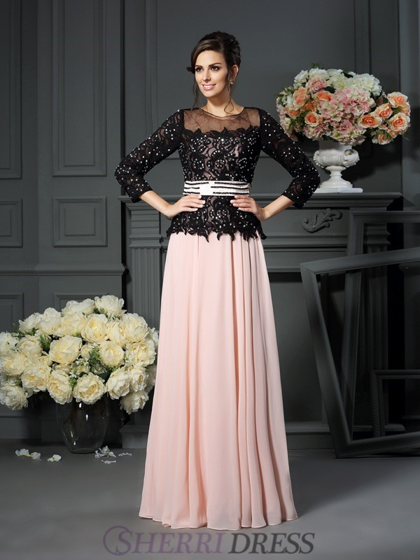 abfb9bffa5a4 A-Line/Princess Sweetheart Chiffon Sleeveless Floor-Length Mother of the Bride  Dresses